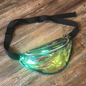 Clear Multicolor Fanny Pack